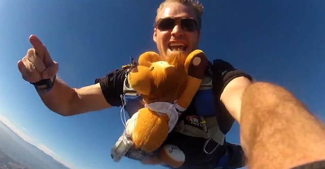 Don't Try This At Home: Skydiving With Lenny The Lion   The LOOP Blog