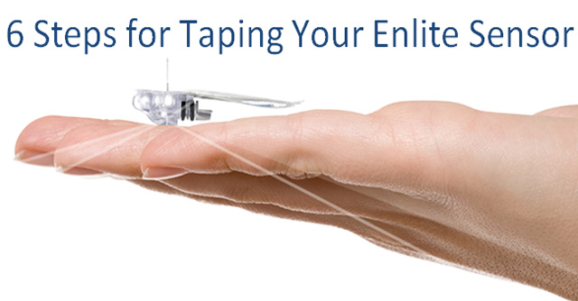 6 Steps For Taping Your Enlite Sensor | The LOOP Blog